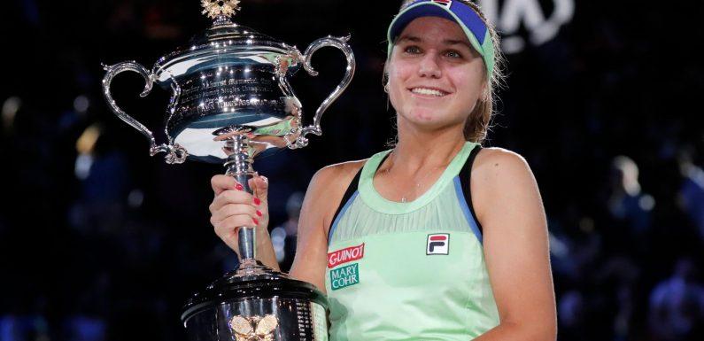 Australian Open: Women's Draw as Sofia Kenin defends her title in Melbourne