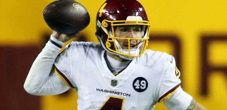 Taylor Heinicke signs for Washington Football Team on two-year, $8.75m extension