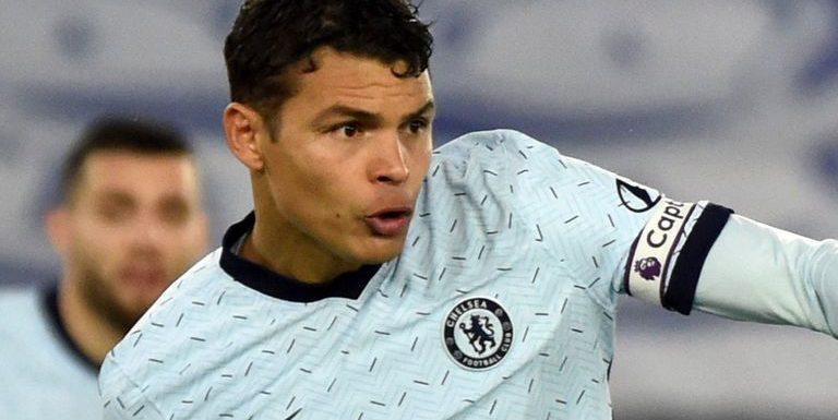 Thiago Silva: Chelsea defender will miss first leg of Champions League last-16 tie against Atletico Madrid