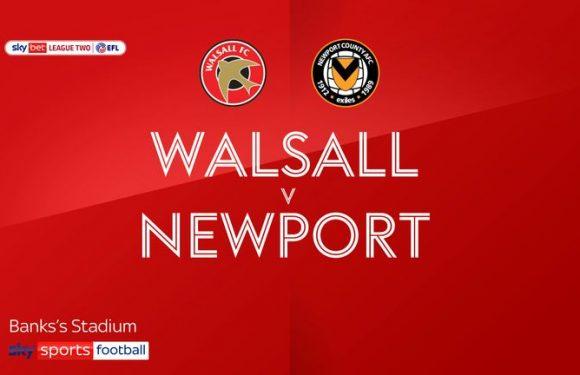 Walsall 0-1 Newport: Joss Labadie hits winner for County