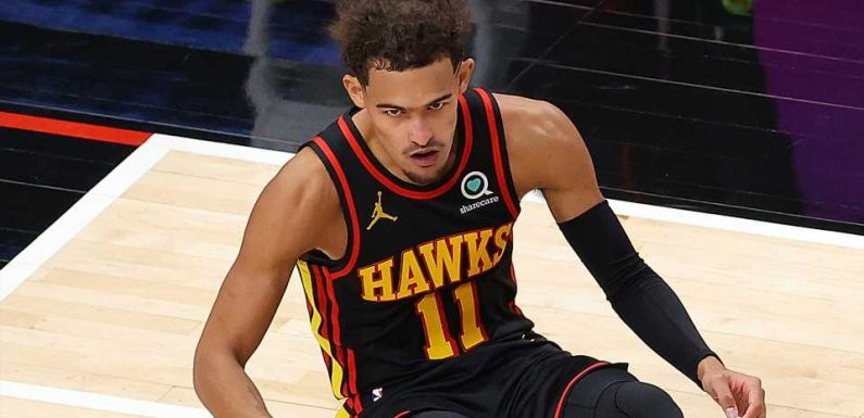 Hawks' Trae Young flips out on referee after late no-call vs. Mavericks: 'I'm not gonna fall just to fall'
