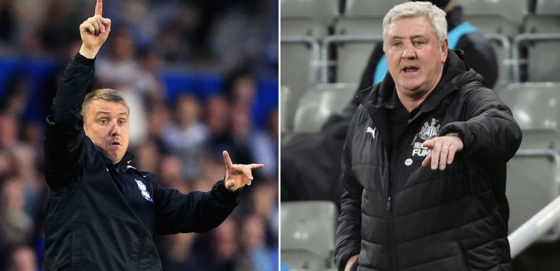 Lee Clark defends Newcastle fans from pundits and shares Steve Bruce sack theory