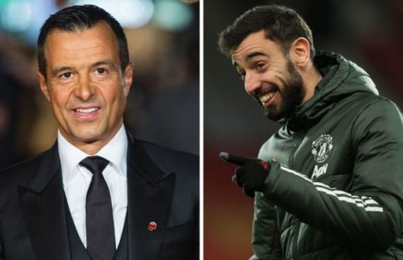 Bruno Fernandes can help entice three other Jorge Mendes clients into Man Utd transfer