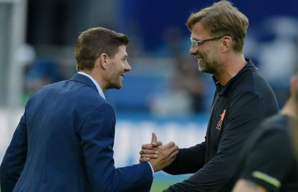 Rangers chiefs 'nervous' Jurgen Klopp will leave Liverpool with Steven Gerrard eyed