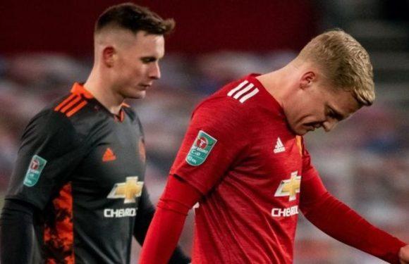 Manchester United blocked undisclosed Donny van de Beek January transfer move