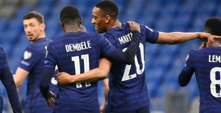 Dembele and Martial 'did some interesting things' as Man Utd transfer plan emerges