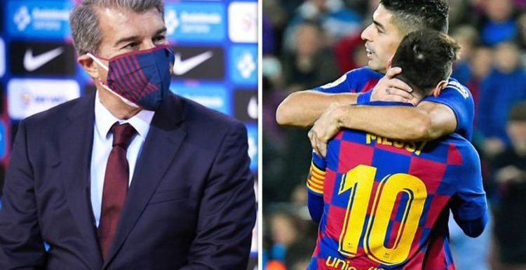 Barcelona chief Joan Laporta may give Lionel Messi the perfect Luis Suarez replacement