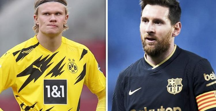 Barcelona chief Joan Laporta decides on Erling Haaland alternative with Lionel Messi key