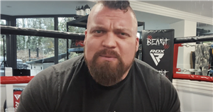 Eddie Hall 'loves punching people' and has been pelted with bricks and bottles