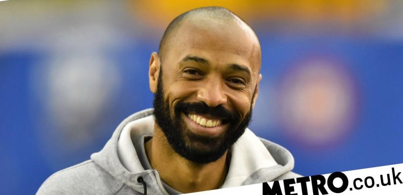 Thierry Henry sends message to Celtic over vacant manager's job