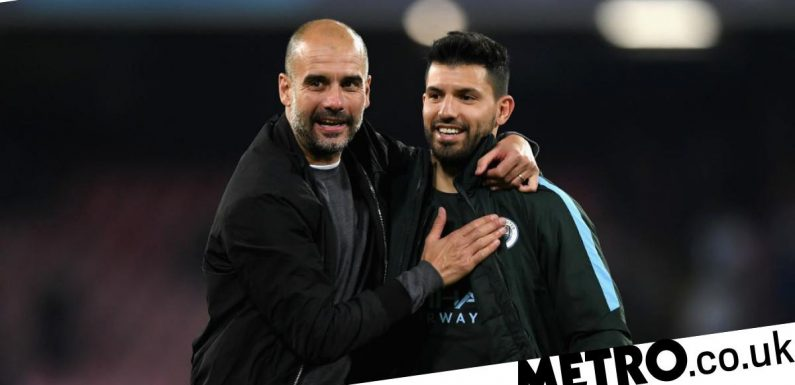 Sergio Aguero determined to prove Guardiola wrong after confirming Man City exit
