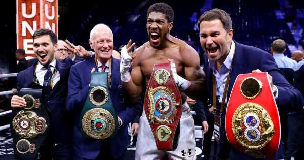 Anthony Joshua vs Tyson Fury £200m mega-fight could be pushed back to July