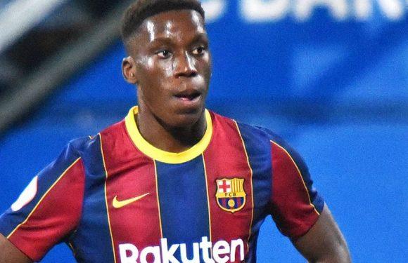 Barcelona's next Paul Pogba Ilaix Moriba has Man Utd offer and turned down City
