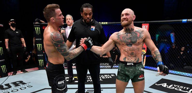 UFC plan for Conor McGregor vs Dustin Poirier rematch