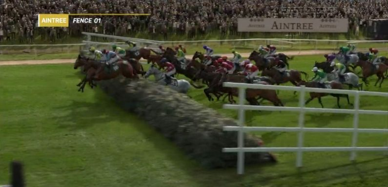 When is Virtual Grand National 2021 and how does it work