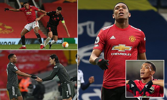 Anthony Martial is now back at square one with Manchester United