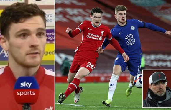 Robertson says Liverpool 'can't rely on the past' after Chelsea loss