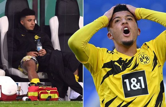 Dortmund dealt Sancho blow with winger ruled out of Bayern clash