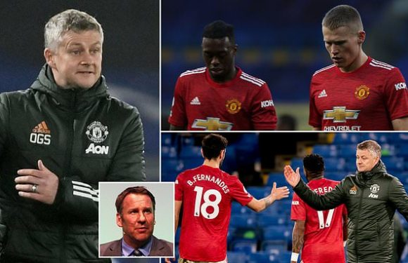 Paul Merson says Man Utd are on the 'verge of a meltdown'