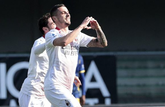 Verona 0-2 AC Milan: Stefano Pioli's makeshift XI claim three points