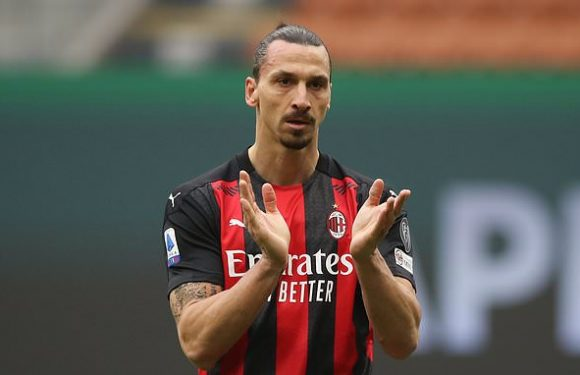Ibra eager to commit his future to AC Milan and play until he's FORTY
