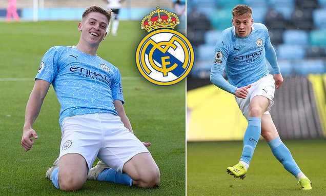 Real Madrid 'weighing up move for Man City starlet Liam Delap'