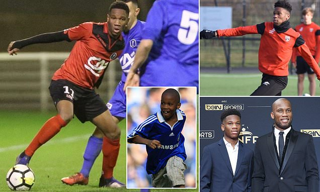 Didier Drogba's son Isaac, 20, is off the mark – how far can he go?