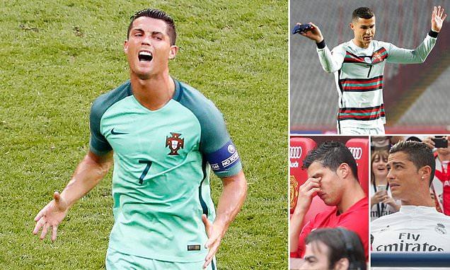 Ronaldo's long list of football meltdowns after Portugal Serbia fury