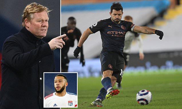 Ronald Koeman 'NOT interested in bringing Sergio Aguero to Barcelona'