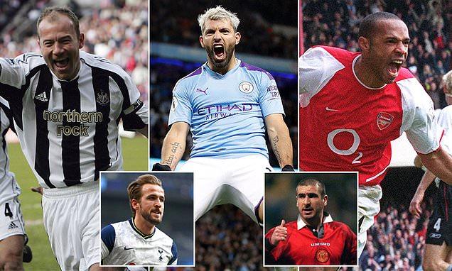 JOE BERNSTEIN: Where is Aguero in top 10 Premier League strikers?
