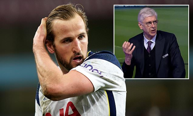 Arsene Wenger suggests Harry Kane can be successful while at Spurs