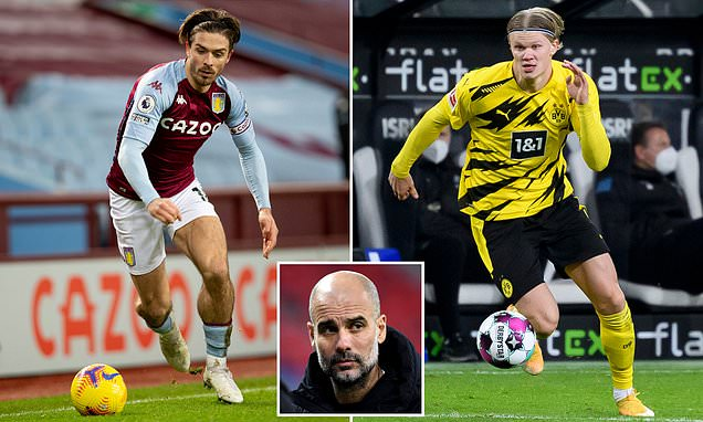 City want Erling Haaland AND Jack Grealish to replace Sergio Aguero