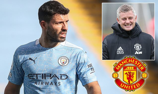 United 'among FIVE clubs who have already made an offer for Aguero'