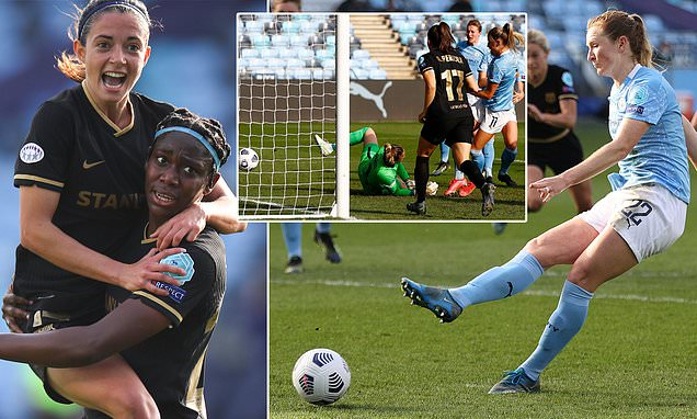 Man City crash out of Women's Champions League to Barcelona