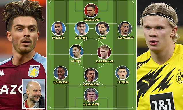 Revealed: How Haaland and Grealish fit into Guardiola's City system