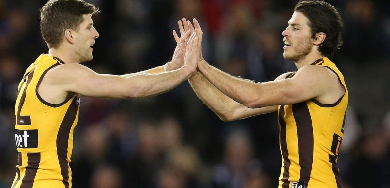 Hawthorn players have their sights on former teammate Isaac Smith when they meet Geelong on Monday