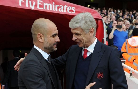 Guardiola closing in on Ferguson and Wenger's Premier League record