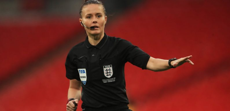 Rebecca Welch makes history as first female referee appointed to EFL match