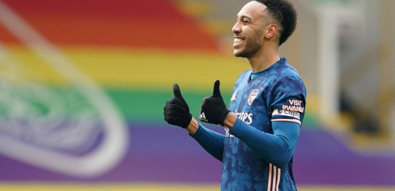 Pierre-Emerick Aubameyang issues 'resolved' but Mikel Arteta wants striker to 'earn his place' at Arsenal