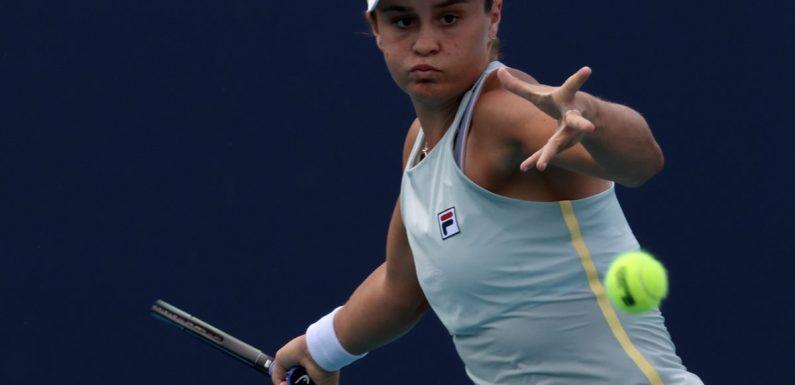 Ashleigh Barty defeats Victoria Azarenka to reach Miami Open quarter-finals