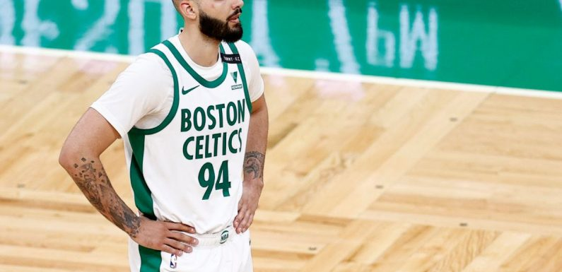 'Oh-fer' Evan Fournier is already making history as a Boston Celtic