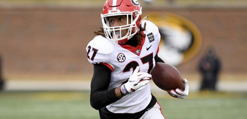 Georgia, Pittsburgh pro days: Eric Stokes blazes unofficial 4.25-second 40-yard dash