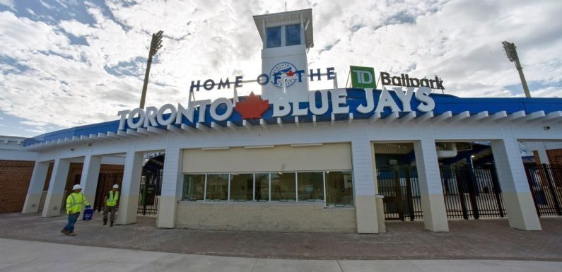 Blue Jays to play third homestand in Florida
