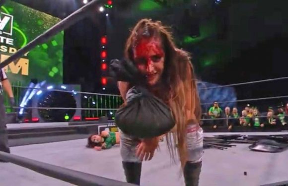 Britt Baker match finally gives AEW a signature moment in its women's division