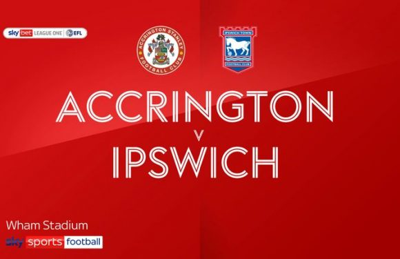 Accrington 1-2 Ipswich: Paul Cook watches on as Tractor Boys win