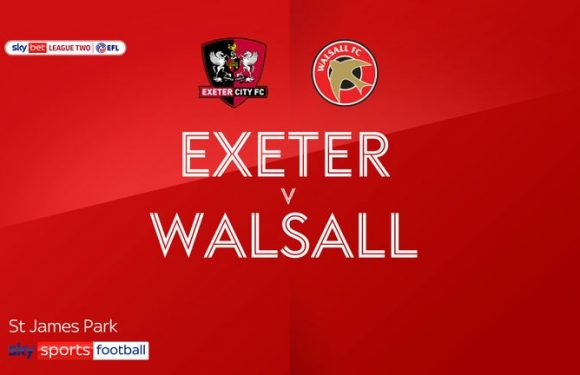 Exeter 0-0 Walsall: Goalless at St James Park