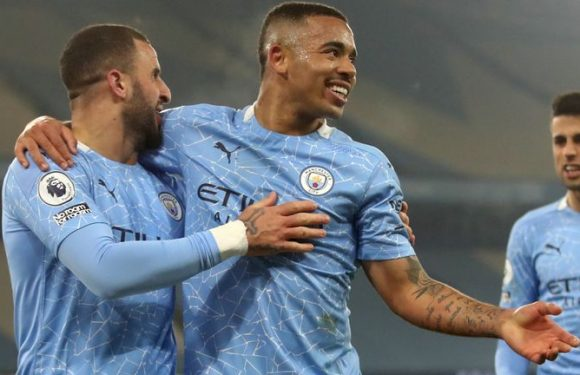 Man City 4-1 Wolves: Pep Guardiola's side secure 21st successive victory with win at the Etihad