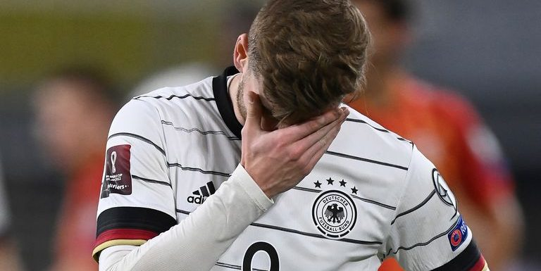 World Cup 2022 Qualifying: Germany stunned by North Macedonia, with wins for Spain, France and Italy