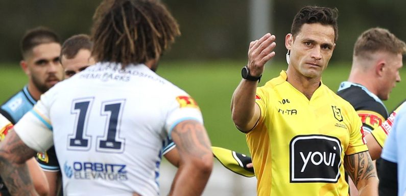 'Nearly blacked out': Top NRL ref forced into shock early retirement