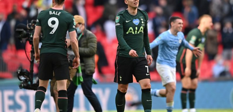 'Spursy': Jamie Carragher rips into Tottenham's 'weak' Carabao Cup final performance